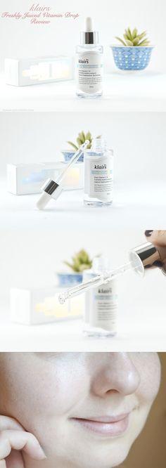 French Review --- Klairs Freshly Juiced Vitamin Drop serum. ---> http://www.beaute-porcelaine.com/klairs-freshly-juiced-vitamin-drop-le-serum-qui-m-a-reconciliee-avec-la-vitamine-c/ <---