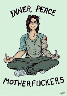 Bucky doing yoga is priceless!