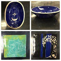 High school ceramics.