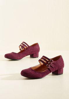 19910-1920s All Tapped Out Heel in Burgundy $49.99 AT vintagedancer.com