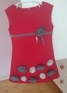 Sukienka dla dziewczynki 110 cm 4/5 lat stan idealny