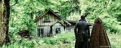 Colin O'Donoghue - Killian Jones - Captain Hook - Emma Swan - Jennifer Morrison - Once Upon A Time art by http://seastarved.tumblr.com/