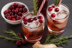 A festive holiday cocktail with bright flavors of cranberry, ginger and a touch of ginger ale for a bit of fizz...and do not forget the gin! Get to sipping!
