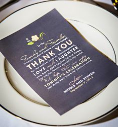 A lovely thank you | Weddings | Teal Photography