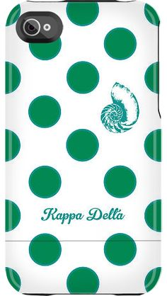 Kappa Delta Dots by Sorority Life for iPhone 4/4S Capsule