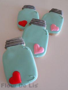 Jar of Love Cookies, by Flour De Lis
