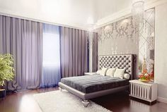 Luxury art deco bedroom design
