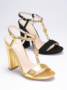 Chain T-strap Sandal VS Collection