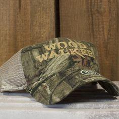 Woodwalker Trucker Cap (Camo) - Lineman WOODWALKER