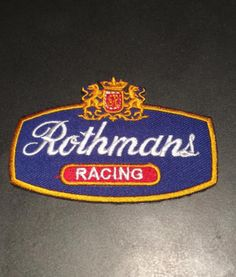 UK  RACING  F  1  – CLASSIC MOTORSPORTS - EMBROIDERY IRON ON PATCHES