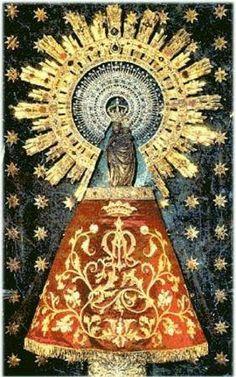 Gráfico de la Virgen del Pilar...