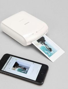 Smart Phone Printer Tech Gift Guide. $199.oo Urban Outfitters WANT!