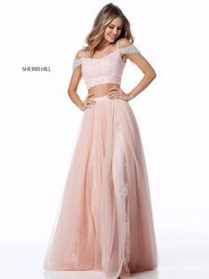 1ed1076febd9 Sherri Hill dress, Light Blue Sherri Hill dresses Prom Dress A-Line Prom  Dresses Light Blue Prom Dresses Two Pieces Prom Dresses Prom Dresses Blue  Prom ...