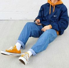 ♥ ideas fashion mens streetwear outfit for 2020 1 Fashion Mode, Aesthetic Fashion, Aesthetic Clothes, Look Fashion, Fashion Trends, 90s Fashion Grunge, Urban Aesthetic, Indie Fashion Men, Runway Fashion