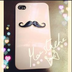 Moustaches on iPhone?