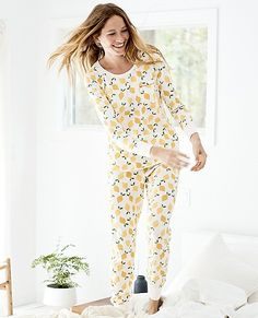 Women's Love, Hanna Pima Cotton PJ Set from #HannaAndersson.