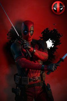 Captain deadpool :v Marvel Art, Marvel Dc Comics, Marvel Heroes, Marvel Avengers, Deadpool Y Spiderman, Deadpool Funny, Thor Wallpaper, Deadpool Wallpaper, Deadpool Pictures
