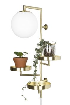 Globen Vägglampa med hylla Astoria