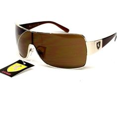 "Aviator Pilot Vintage Turbo Metal Lion Fashion Sunglasses A80 (gold - brown lens, uv400) Aviators. $9.95. Blocks harmful UVB & UVA, meets ANSI Z80.3. metal frame. FREE Pouch with Purchase. FREE U.S Domestic shipping on any 3 pairs with code: CZNLDGR4. Overall  Size: Width x Height  5  5/8"" X 2"" , 14.2CM X 5CM. plastic lens"