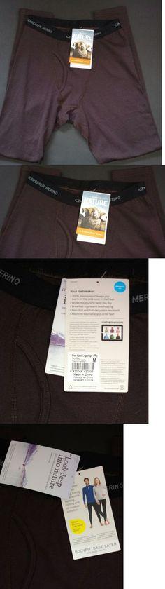 Base Layers 62171: Nwt! Men S Icebreaker Merino Wool Apex Leggings W Fly Walnut Black Sz M -> BUY IT NOW ONLY: $49.95 on eBay!