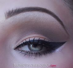Alexa's Make-Up & More: Neutral Cut-Crease Look and New hair color