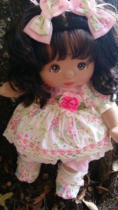 mattel my child aa beauty Childrens Dolls, My Child Doll, Homemade Dolls, Indian Dolls, Realistic Baby Dolls, Doll Dress Patterns, Baby Doll Clothes, Love My Kids, Cabbage Patch Kids