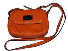 Michael Kors Flap Leather Small Crossbody Messenger Bag -- See this great product.