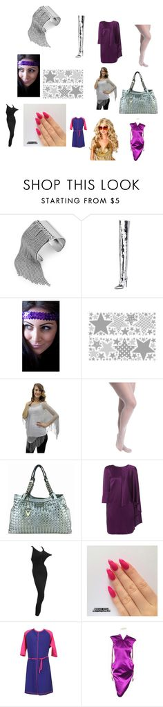 """""""Outfits inspired by Alexandra Wentworth as Super Bimbo on """"In Living Color"""""""" by terrence-michael-clay on Polyvore featuring BCBGeneration, Balenciaga, Ashley Stewart, Versace, Alberta Ferretti, Jean-Paul Gaultier, MarSea Modest and Alexander McQueen"""