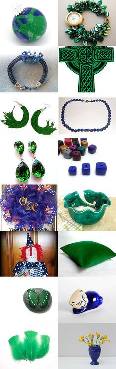 The Royalty of Emeralds (12) by Barbra and Meredith on Etsy--Pinned with TreasuryPin.com #novemberfinds