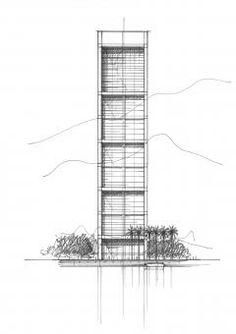 Platinum Tower in Beirut, Lebanon  --  Ricardo Bofill Taller de Arquitectura  --  on Archello.com