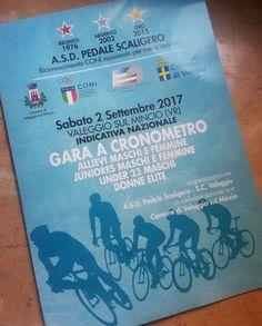 Gara ciclistica a Cronometro a Valeggio sul Mincio VR www.panesalamina....