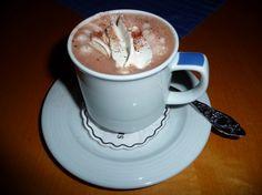 البيت السعيد: طريقة عمل الكاكاو بالشيكولاتة والكريمة