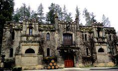 3 Castle Wineries in Calistoga, California***
