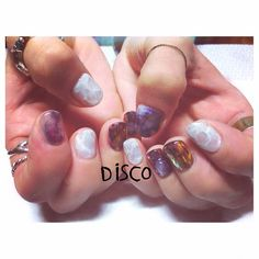+DISCO new + | nail by @nagisakaneko | #disco #disconail