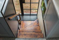 Brooklyn Brownstone Remodel, Gerry Smith Architect I want the   steel/window door for door to the deck.