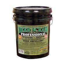 Deer Scram Professional Grade 25lbs. Granular Deer Repellent Industry Leader > 25 LBS Not For Sale:  AK, CA, HI Check more at http://farmgardensuperstore.com/product/deer-scram-professional-grade-25lbs-granular-deer-repellent-industry-leader/