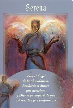 Serena Angel Card Extended Description - Messages from Your Angels Oracle Cards by Doreen Virtue Doreen Virtue, Calling All Angels, Affirmations, Angel Readings, Angel Guidance, Spiritual Guidance, Spiritual Awareness, Free Angel, Angel Prayers