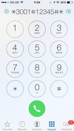 iPhone signal strength trick