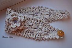 Bandeau Crochet, Crochet Headband Free, Headband Pattern, Knitted Headband, Crochet Baby, Knit Crochet, Crochet Stitches, Crochet Patterns, Diy Hair Accessories