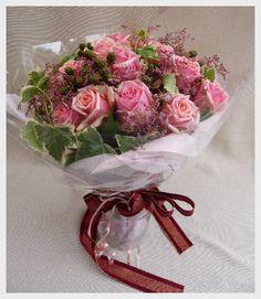 プロポーズの花束・ピンクの薔薇 Rose bouquet