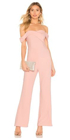 8deecf647058 superdown Sabrina Jumpsuit