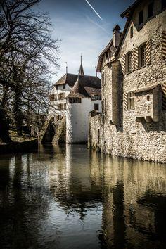 Schloss Hallwyl, Canton of Aargau, Switzerland