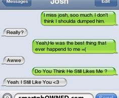 - Relationships - Feb 2011 - Autocorrect Fails and Funny Text Messages - SmartphOWNED Aww I love this!