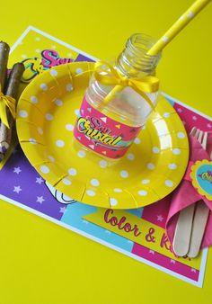 Kit de fiesta!  #partydecor #partyideas #soylunaparty #kidstable