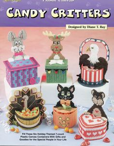 CANDY CRITTERS * TEDDY BEAR TREATS by DIANE T. RAY 1/4