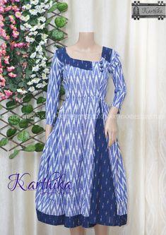 Pattu Saree Blouse Designs, Churidar Designs, Kurta Designs Women, Sleeves Designs For Dresses, Dress Neck Designs, Baby Dress Design, Frock Design, Kalamkari Dresses, Designer Anarkali Dresses