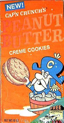 Cap'n Crunch's Peanut Butter Creme Cookies More