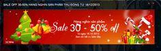 Khuyến mãi Thời trang Seven giảm giá đến 50% nhân dịp giáng sinh và năm mới 2014 | ghienkhuyenmai