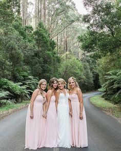 Candice  her bridesmaids  Getting married in Lorne provides you with so many amazing photo locations as showcased here.  by  @white_shutter_photography by lornebeachpavilion http://ift.tt/1IIGiLS