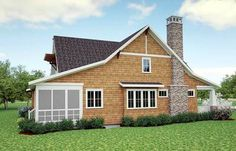 Storybook Bungalow With Screened Porch - 18266BE thumb - 04